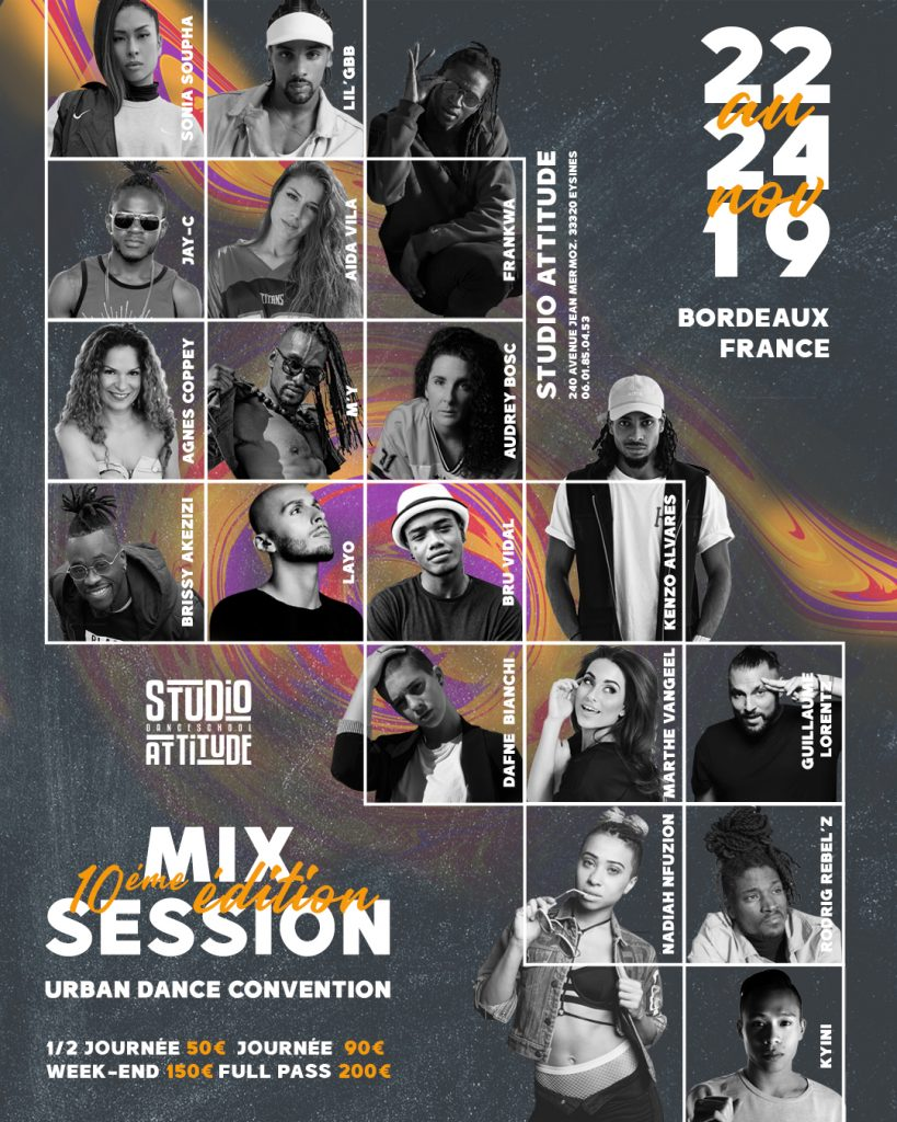 Affiche Profs Mix Session